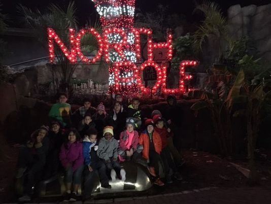 Zoo provides night out to Gaspar family and shelter kids
