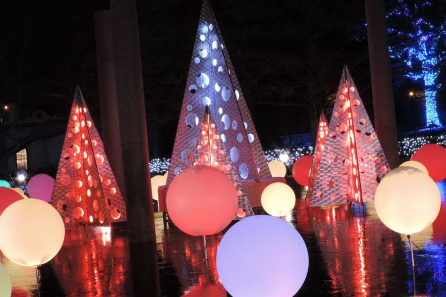 Garden Glow Holiday Lights at Missouri Botanical Garden