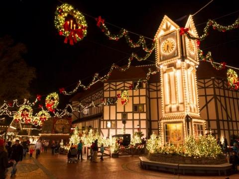Christmas Town Williamsburg