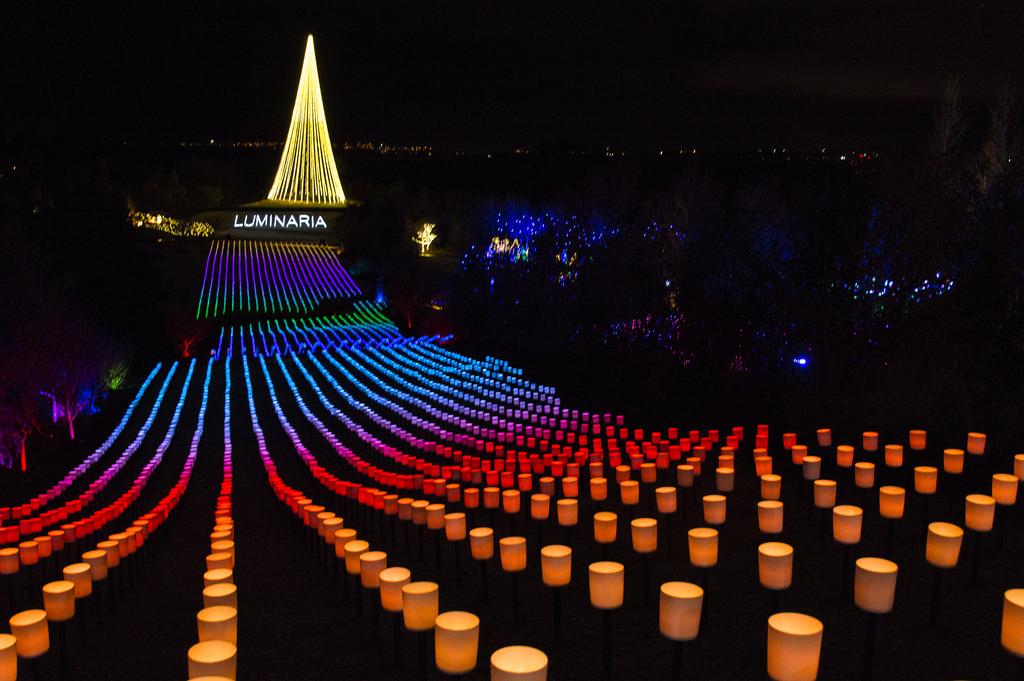 Thanksgiving Point's Luminaria