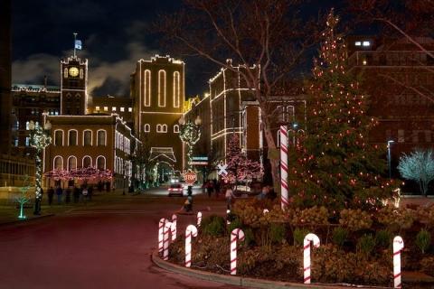 Brewery Lights at Anheuser-Busch St. Louis