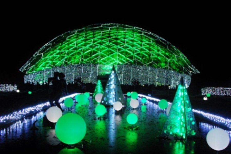 The Holidays at Missouri Botanical Garden