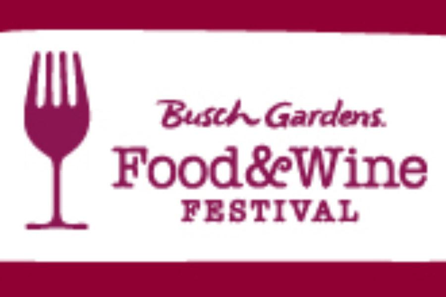 Food & Wine Festival at Busch Gardens Williamsburg