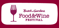 Food & Wine Festival at Busch Gardens Williamsburg