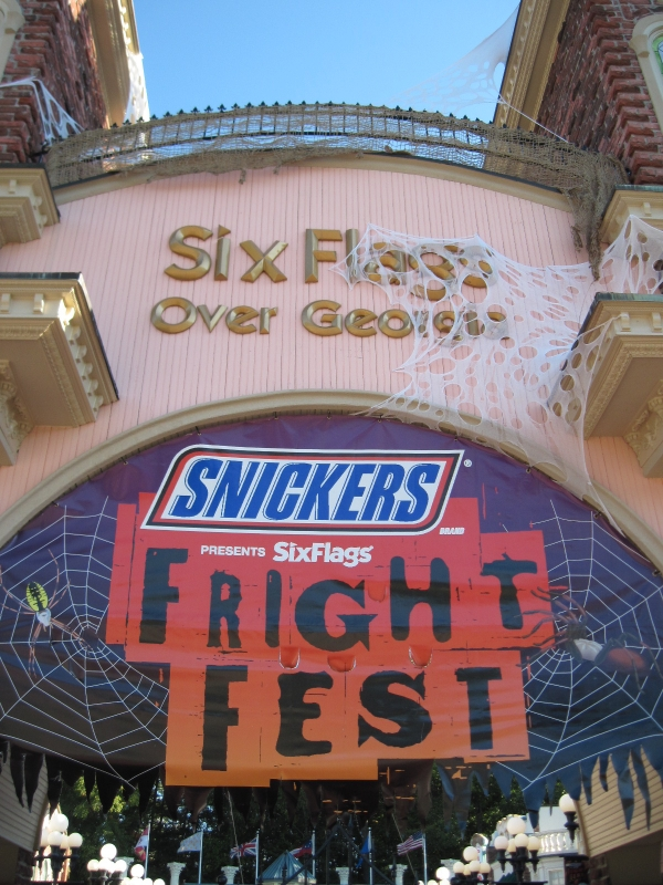 Spend Halloween at Six Flags Over Georgia Fright Fest