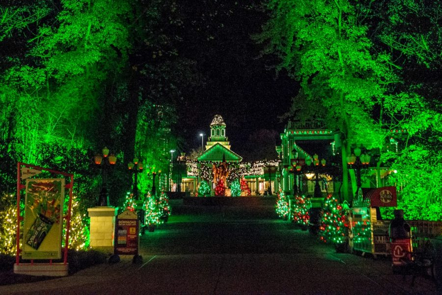Holiday in the Park at Six Flags America