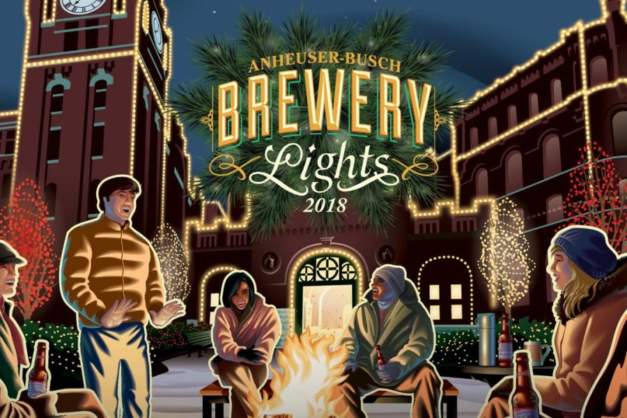 Brewery Lights at Anheuser-Busch St. Louis